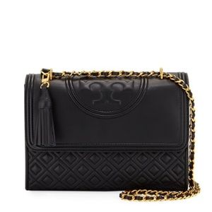 Tory Burch Fleming Leather Shoulder Purse